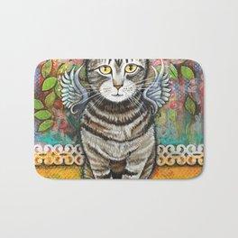 Bobcat Angel by Robynne Bath Mat