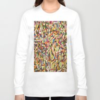 mexico Long Sleeve T-shirts featuring Mexico by Jose Luis
