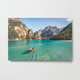 Mountain Adventures Metal Print