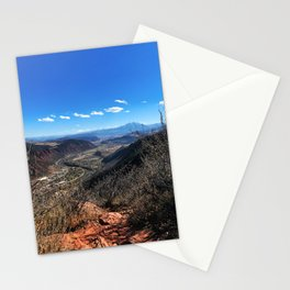 The Air Up There - Glenwood Springs, CO Stationery Cards