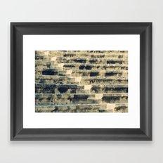 Ancient Amphitheater Framed Art Print