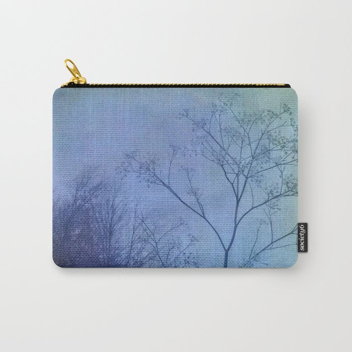The Quiet of Winter Carry-All Pouch
