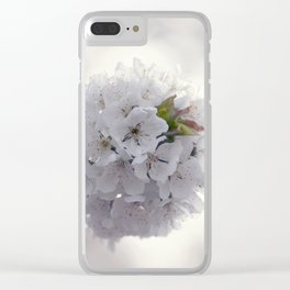 Cherry blossoms in Love - Cherryblossom Flowers Floral Clear iPhone Case
