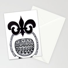 Owl3 Stationery Cards