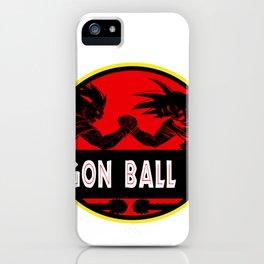 Park dragon ball world iPhone Case