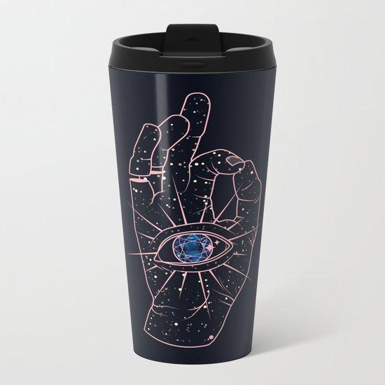Magic Hand Metal Travel Mug