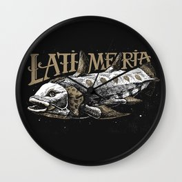 Latimeria Fish Wall Clock