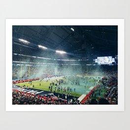 Super Bowl LII Art Print