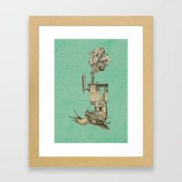 Steamsnail Framed Art Print