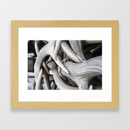 The Antler Arches of Jackson Hole Framed Art Print
