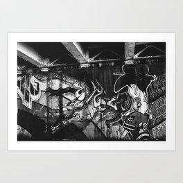 Chicago Grafitti I Art Print