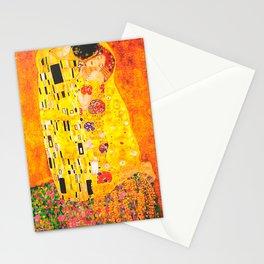 The Kiss Gustav Klimt Stationery Cards