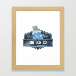 Lon Lon Co. Framed Art Print