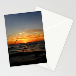 Sunrise 100717 Cove Point Lighthouse, Lusby, MD Stationery Cards