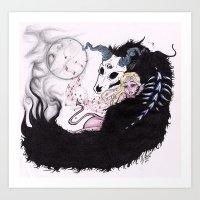 Hades & Persephone Art Print