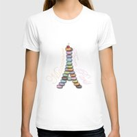 macaroon T-shirts featuring Macarons from Paris by Vannina