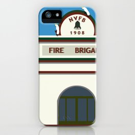 Historic Fire Station Junction Street iPhone Case