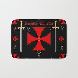 Knights Templar Bath Mat