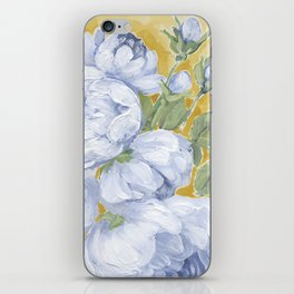 Blue Roses iPhone Skin