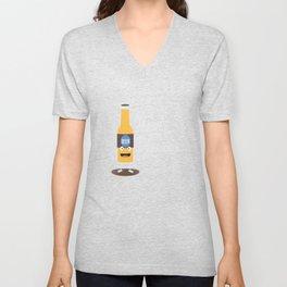 Beerbottle fresh and delicious Bdm8l Unisex V-Neck