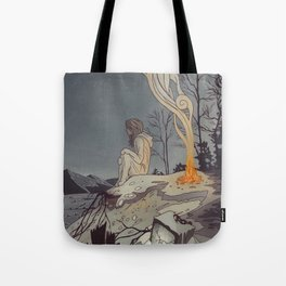 Pixels and Dust Tote Bag