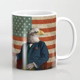 Official Portrait of Senator Silas Eagle Coffee Mug
