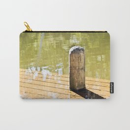 Waterlogged pier. Carry-All Pouch