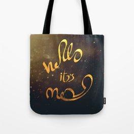 adele hello Tote Bag