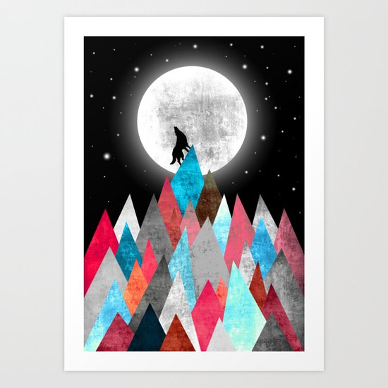 Wofl XOX Art Print
