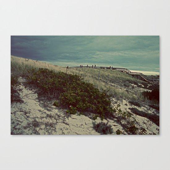 Nautica: Leaving the Dune Canvas Print