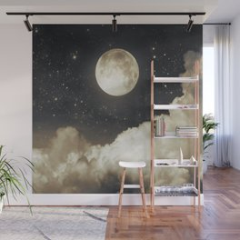 Touch of the moon I Wall Mural