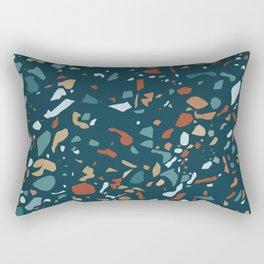 Terrazzo Night Rectangular Pillow