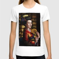 japanese T-shirts featuring Japanese by Ayu Marques