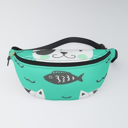 cats in the sea Fanny Pack