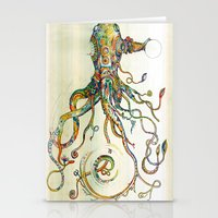 wine Stationery Cards featuring The Impossible Specimen by Will Santino