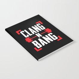 Clang N Bang Notebook