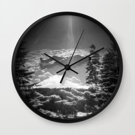 """Elevation"" - Holga Double Exposure Wall Clock"