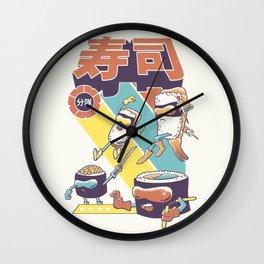Sushi Sentai Wall Clock