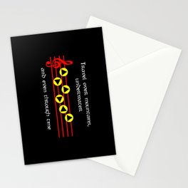 Travel Over Mountains, Underwater & Even Through Time - Prelude Of Light (The Legend Of Zelda: OoT) Stationery Cards