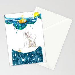 for a rainy day Stationery Cards