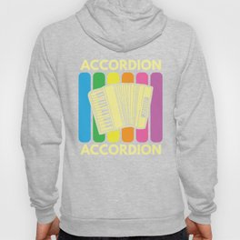 Accordion Melodeon Piano Accordion Retro Gift Idea Hoody