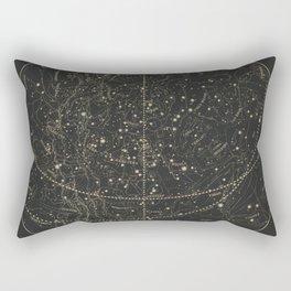 Vintage Astronomical & Celestial Map (1850) Rectangular Pillow