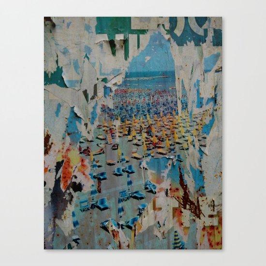 Summer 70's Canvas Print