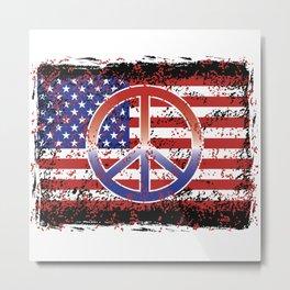 American Peace Metal Print