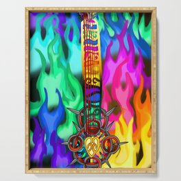 Fusion Keyblade Guitar #194 - Eternal Flame & Combined Keyblade Serving Tray
