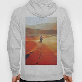 The Martian Mars walk inspired chalk drawing Hoody