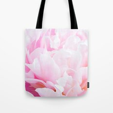 CREAMY PINK FLOWER Tote Bag