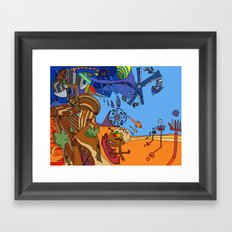 That Familiar Feeling Framed Art Print