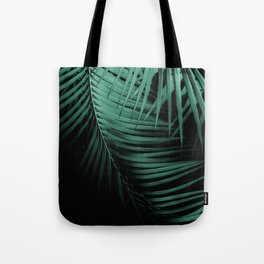 Palm Leaves Green Vibes #3 #tropical #decor #art #society6 Tote Bag