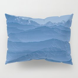 Blue Hima-layers Pillow Sham